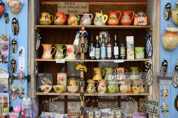 Souvenir Shop or Gift Shop in Les-Baux-de-Provence Provence