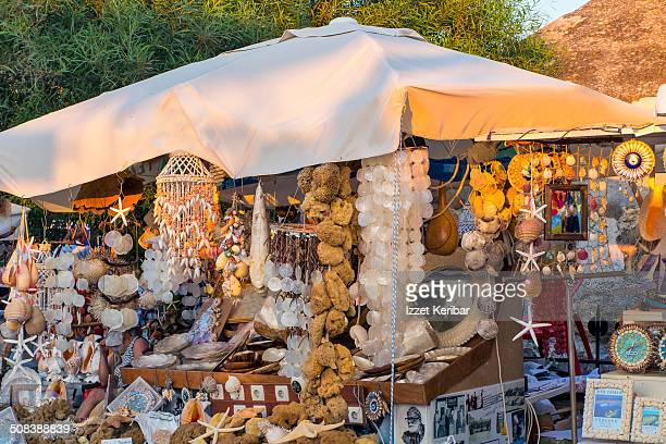 Souvenir shops at Bodrum