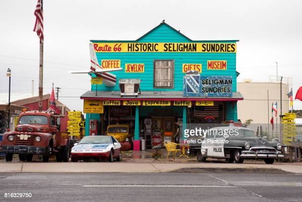 Souvenir store at Seligman, Arizona, USA