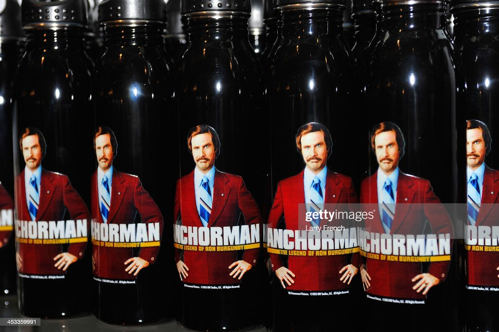 Souvenirs are seen in the Newseum gift shop at a special evening with the 'Anchorman' star, <a gi-track='captionPersonalityLinkClicked' href=/galleries/search?phrase=Will+Ferrell&family=editorial&specificpeople=171995 ng-click='$event.stopPropagation()'>Will Ferrell</a>, at the Newseum on December 3, 2013 in Washington, DC.