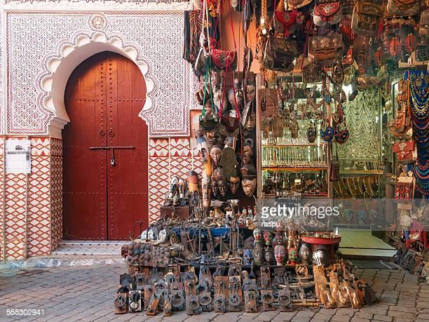 Souvenirs at the Souk, Marrakech