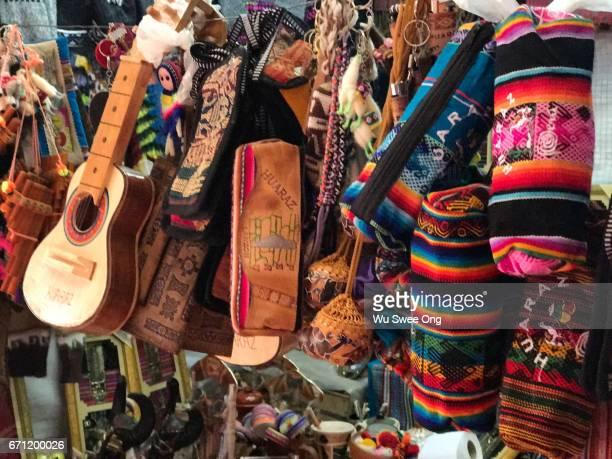 Souvenirs in Huaraz