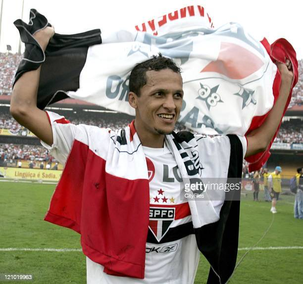 Souza of the new Brazilian champions FC Sao Paulo