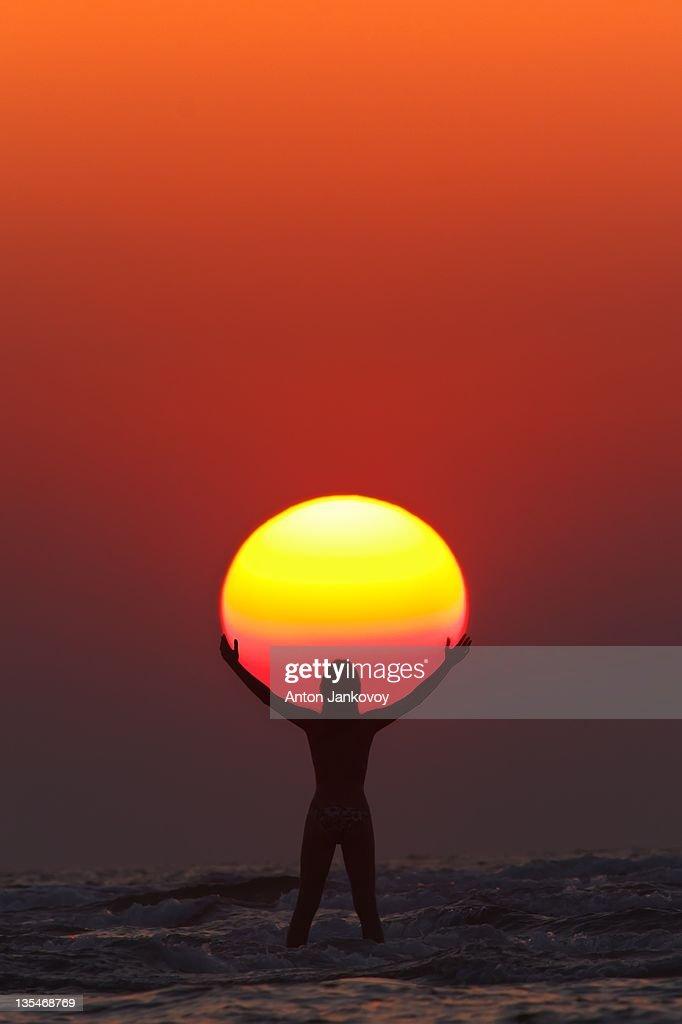 Sovereign of Sun : Stock Photo