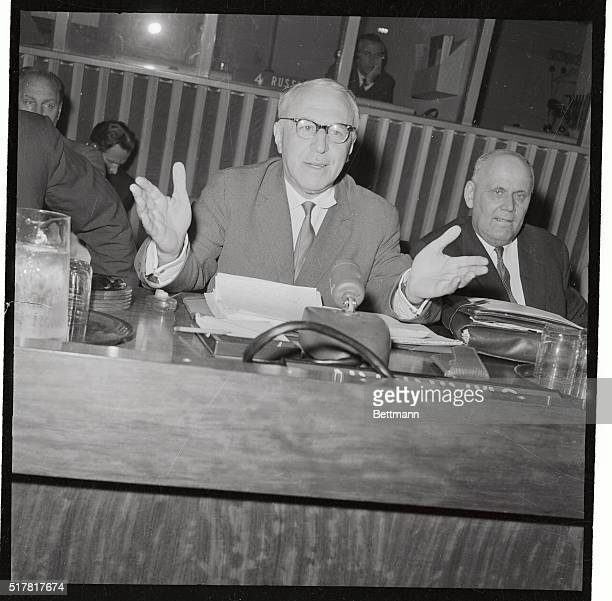 a report on adlai stevenson and valerian zorin Twe remembers: adlai stevenson dresses down the soviet ambassador to the un the former two-time presidential candidate dressed down valerian zorin.