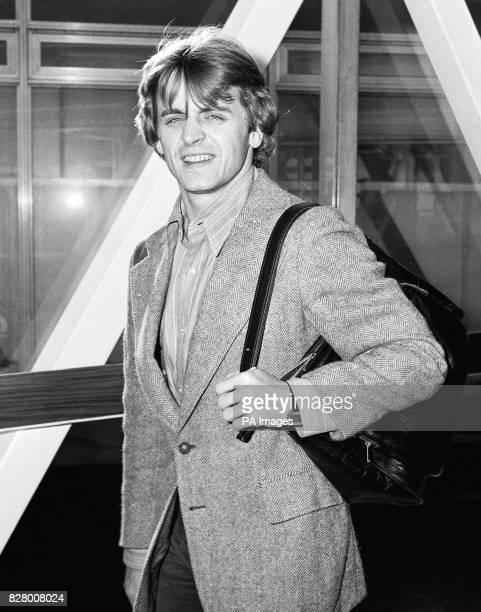Soviet ballet dancer Mikhail Baryshnikov who defected to Canada on his arrival at Heathrow airport