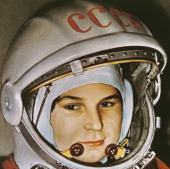 Soviet cosmonaut valentina tereshkova the first woman in space prior to her flight aboard vostok 6 june 16 1963