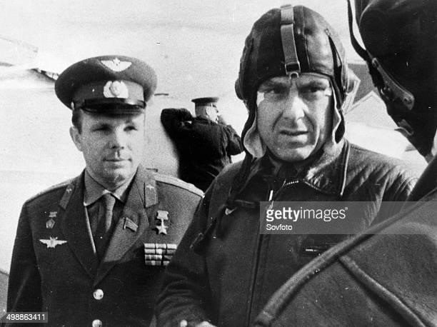 yuri gagarin and vladimir komarov - photo #1