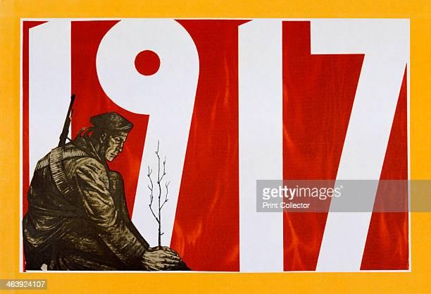 Soviet propaganda poster 1917