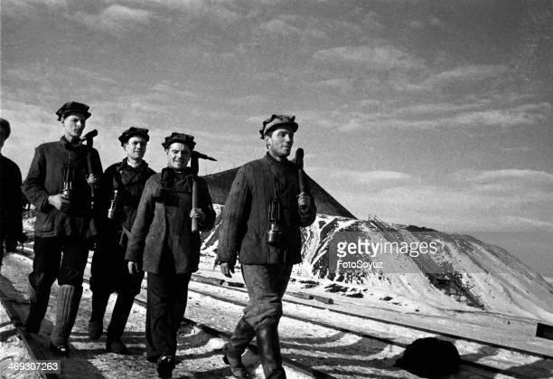 Donbass coal miners Ukraine