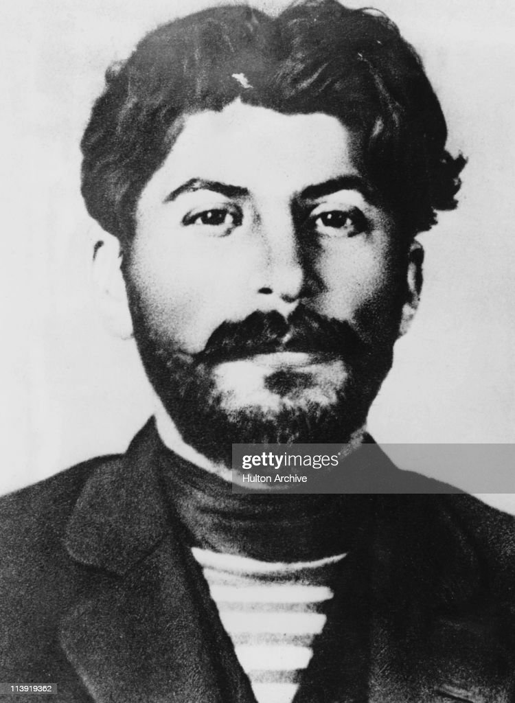 Soviet revolutionary and future dictator <a gi-track='captionPersonalityLinkClicked' href=/galleries/search?phrase=Joseph+Stalin&family=editorial&specificpeople=91259 ng-click='$event.stopPropagation()'>Joseph Stalin</a> (1879 - 1953), 1911.