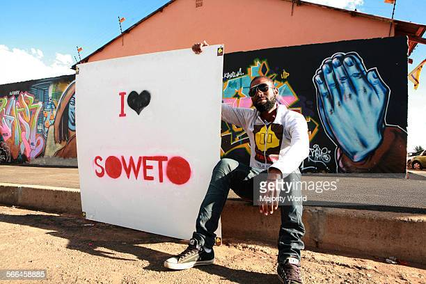 Soweto is no longer a place of pain people today are proud to declare I LOVE SOWETO Mangi Mbitshana is a coowner of Thesis brand and concept store...