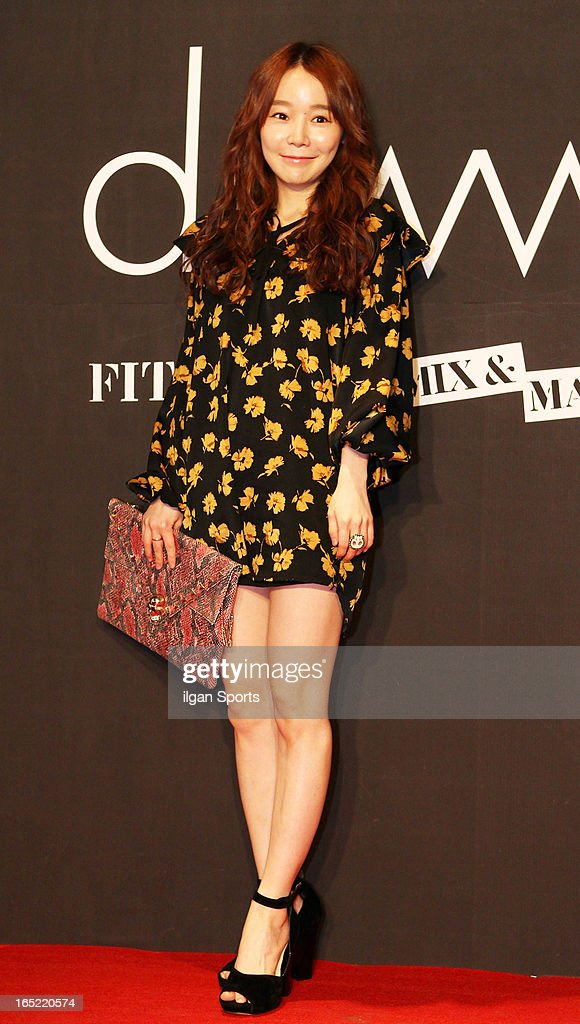 Soy attends the 'drww.' launch & beauty talk concret at Conrad Hotel on March 28, 2013 in Seoul, South Korea.