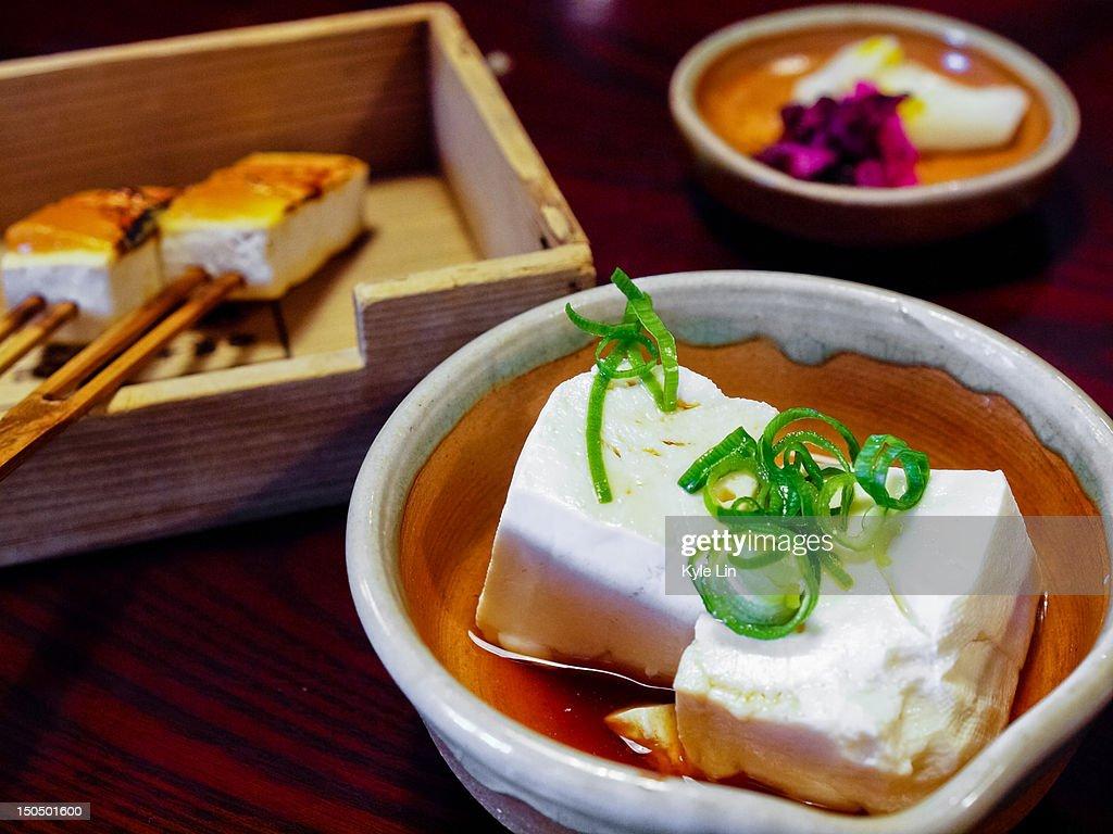Soybean curd : Stock Photo