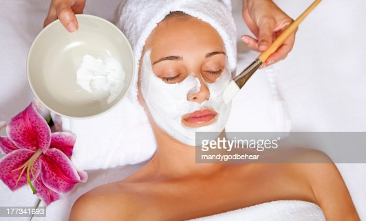 spa face mask : Stock Photo