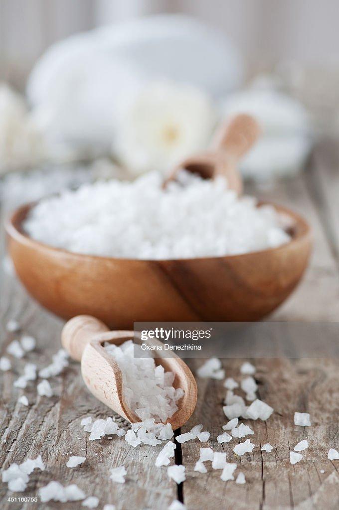 Spa in white