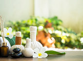 Spa massage and treatment , Thailand, select and soft focus