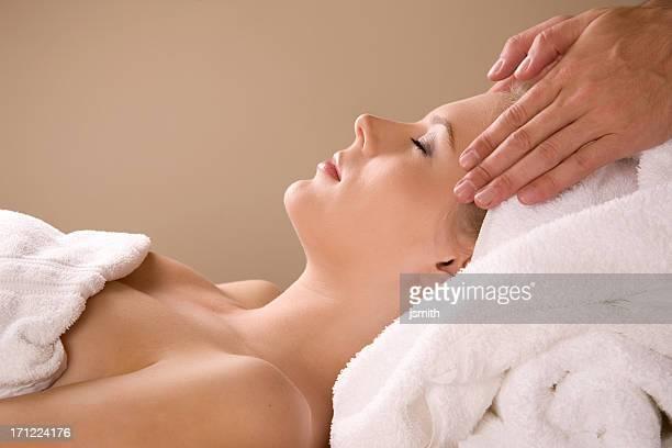 Massaggio nella Spa