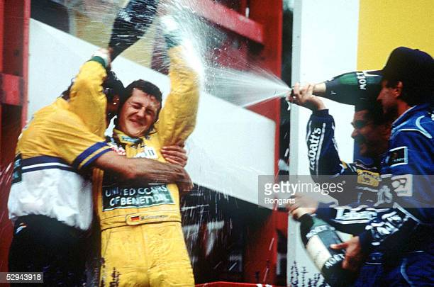 BELGIEN 1992 Spa SIEGER Michael SCHUMACHER/GER BENETTON FORD