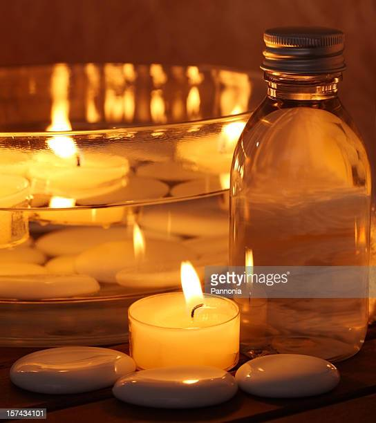 Spa with Candle Light