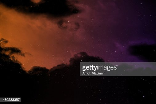 Space background. : Stock Photo