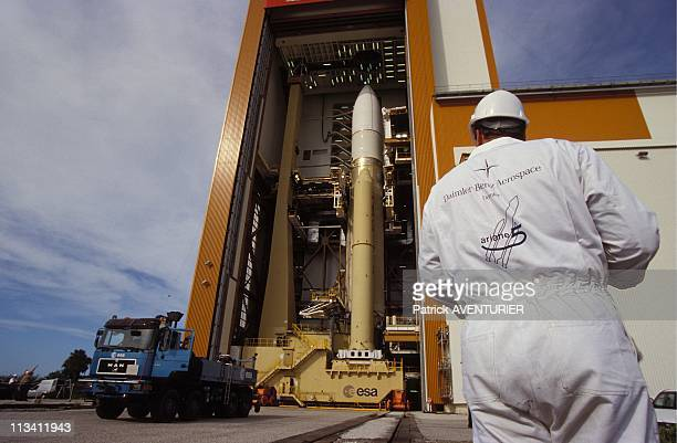 Space Center Ariane 5 In Flight Configuration On July 29th 1995 In Kourou French Guiana