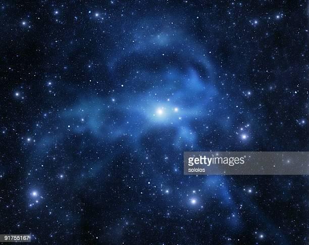 Galaxia de espacio