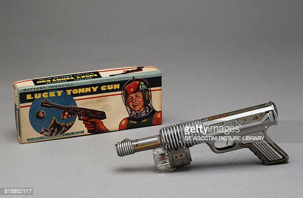 Space gun toy 20th century Milan Museo Del Giocattolo E Del Bambino