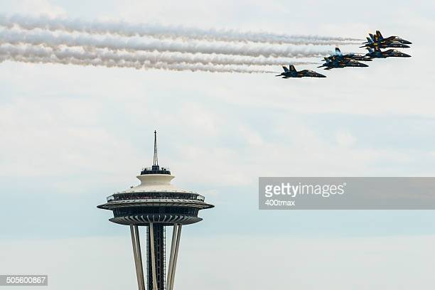 Space Needle Flyover