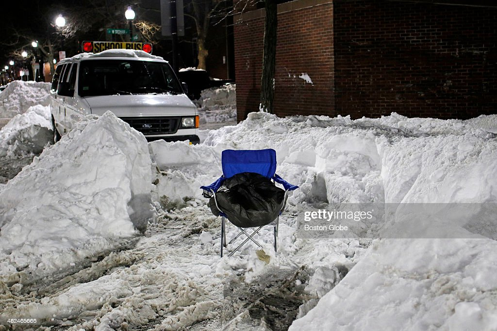 Space savers in the South End