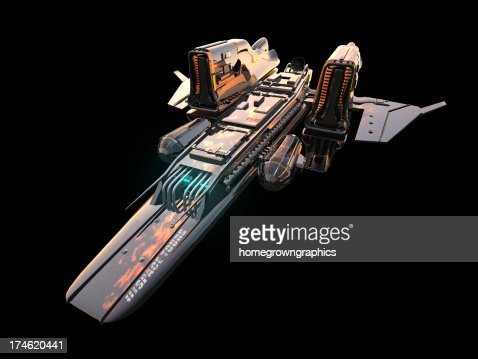 space ship isolated