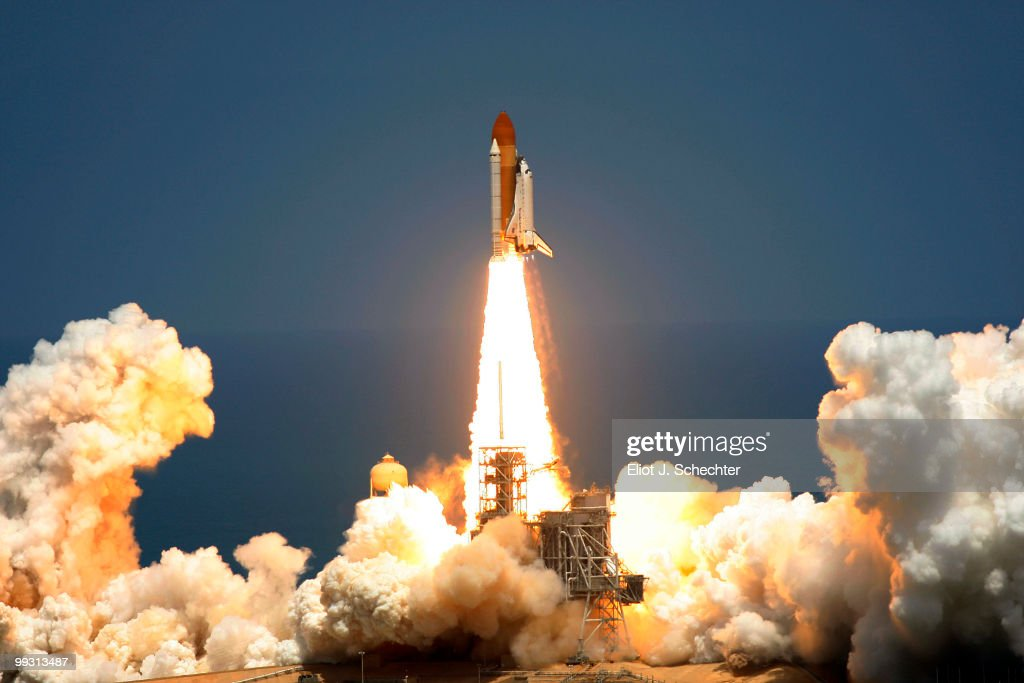 Space Shuttle Atlantis lifts off of launch pad 39-a at Kennedy Space Center for its final scheduled launch May 14, 2010 in Cape Canaveral, Florida. Atlantis is scheduled for a 13-day mission to the International Space Station.