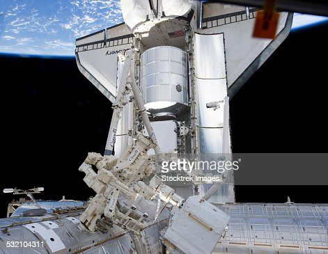Space shuttle discovery and the canadianbuilt dextre for When was the international space station built