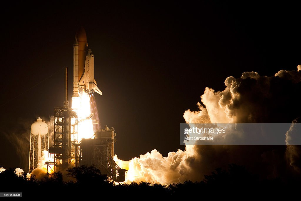 Space Shuttle Discovery lifts off from pad 39-a at Kennedy Space Center on April 5, 2010, in Cape Canaveral. Discovery is scheduled for a supply mission for a 13 day trip to the International Space Station.