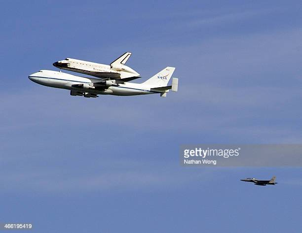 CONTENT] Space Shuttle Endeavour's final flight over San Francisco on its way to Los Angeles