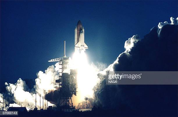 Space Shuttle Launching