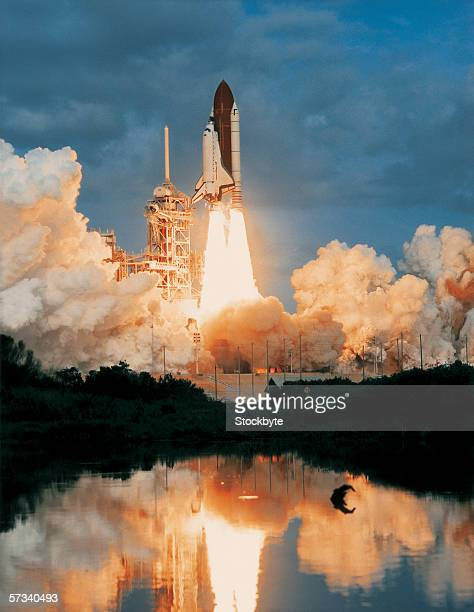 Space Ship Fire Stock Photos and Pictures | Getty Images