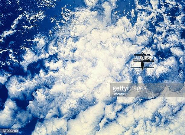 Space Station over the Pacific