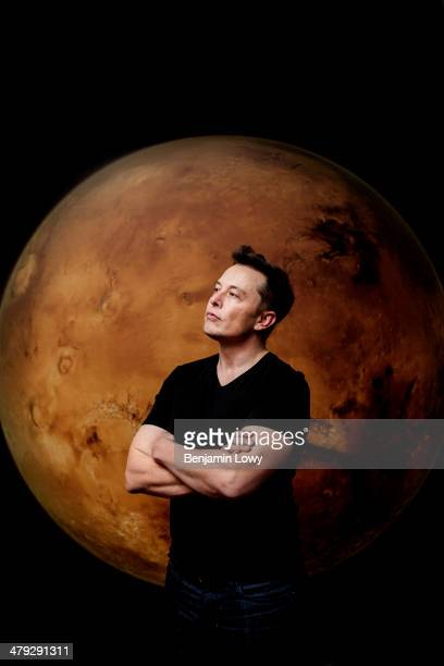 Space X and Tesla Motors founder and CEO Elon Musk is photographed for Fortune Magazine on November 7 2013 in Los Angeles California COVER IMAGE