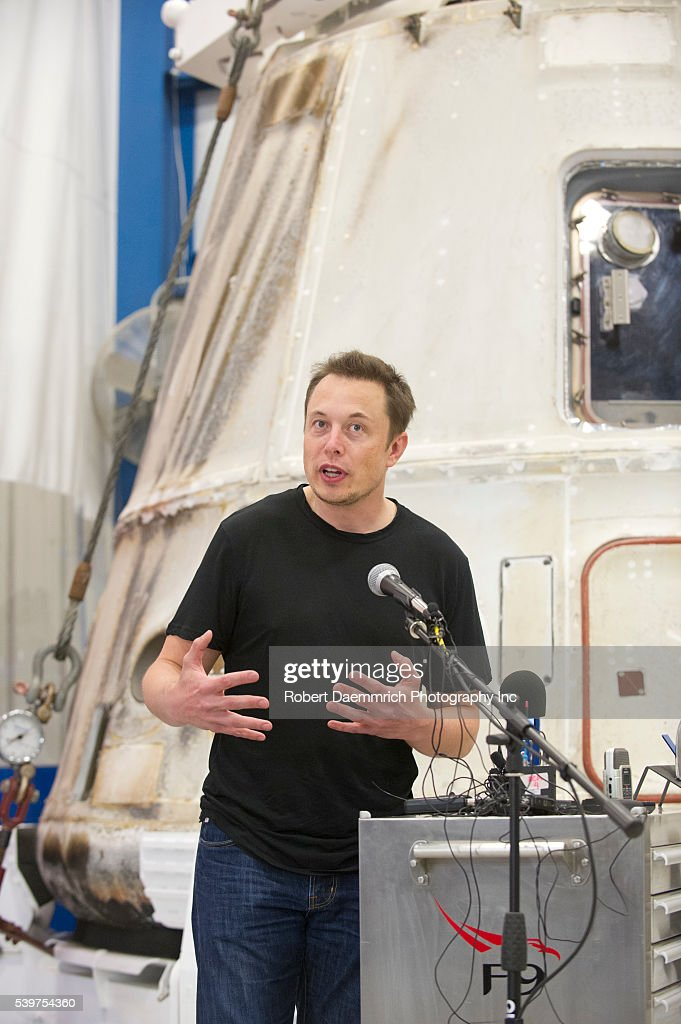 SpaceX CEO and Chief Designer Elon Musk answers questions about the private Dragon spacecraft that returned to earth May 31st after delivering...