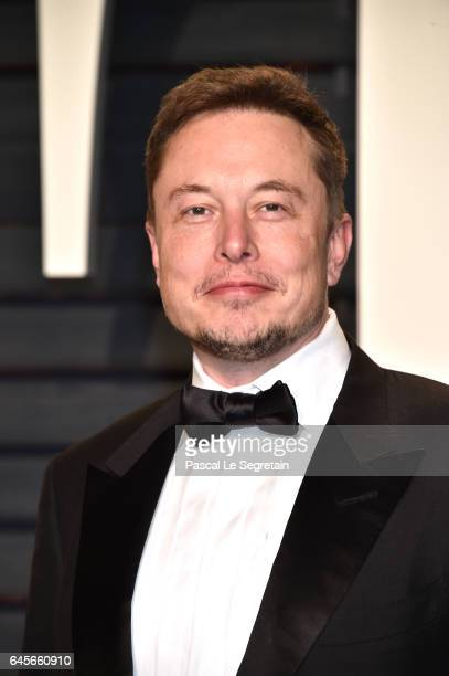 SpaceX CEO Elon Musk attends the 2017 Vanity Fair Oscar Party hosted by Graydon Carter at Wallis Annenberg Center for the Performing Arts on February...