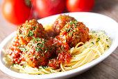 Spaghetti and Meatballs