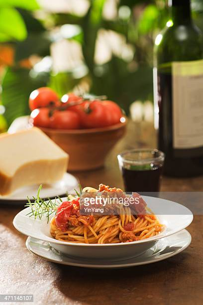 Spaghetti mit Bolognese-Sauce, Vt