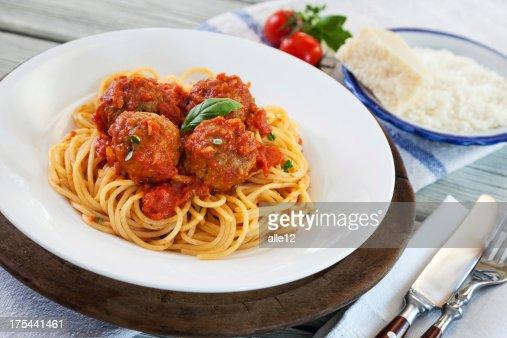 Spaghetti with Meatball
