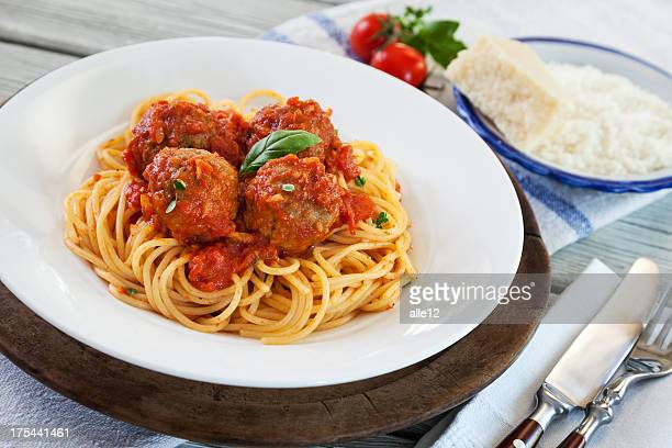 Spaghetti with Meatball
