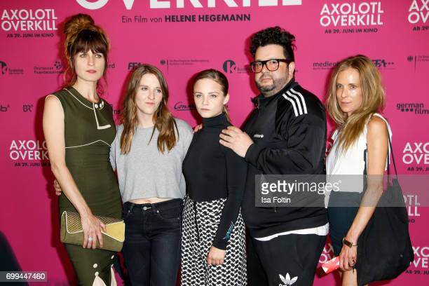 Spain actress Araceli Jover German director Helene Hegemann Swiss actress Jasna Fritzi Bauer German comedian and author Oliver Polak and German...