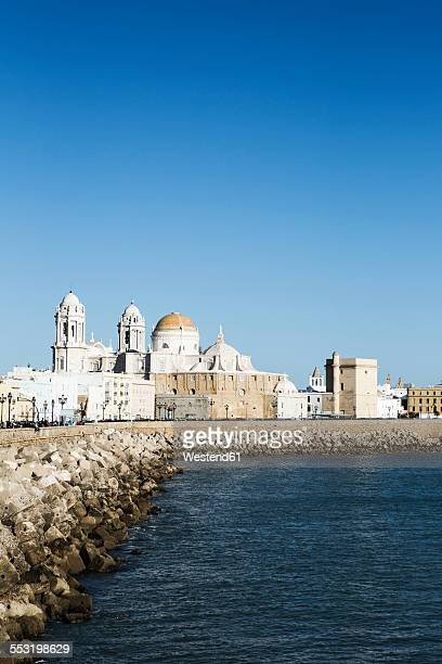 Spain, Andalusia, Cadiz, cathedral by the sea