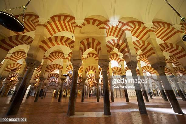 Spain, Andalusia, Cordoba, interior of the Mezquita