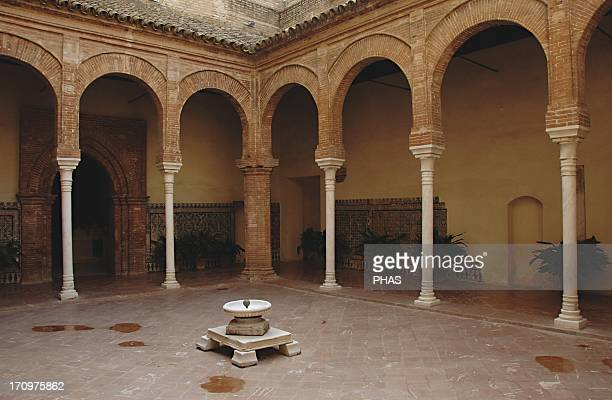 Spain Andalusia Seville Island of the Charterhouse Monastery of Our Lady of the Caves founded in 1399 by Gonzalo de Mena Archbishop of Seville Royal...