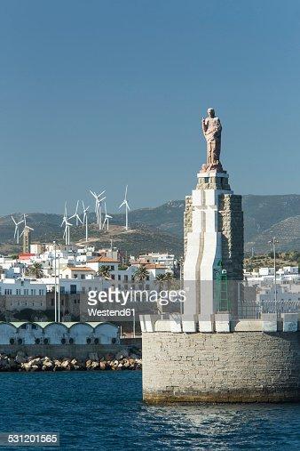Spain, Andalusia, Tarifa, port entrance